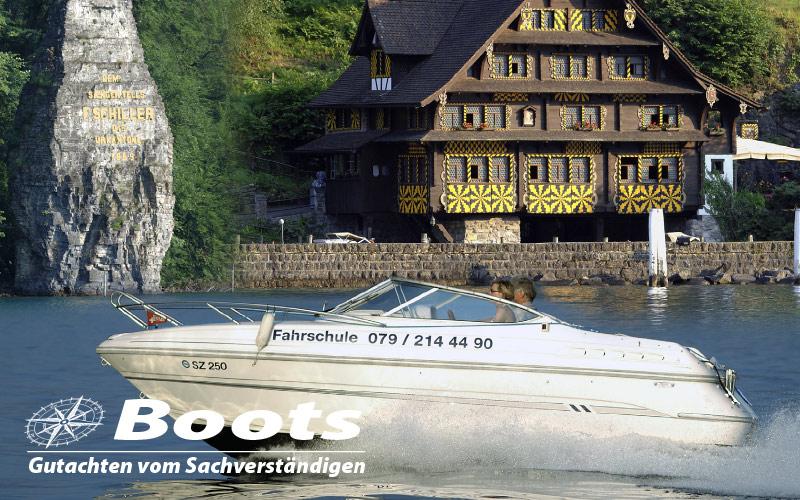 Nachlassbewertung -Motorboot
